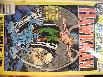 Dc Comic Special Hawkman No. 1 1986 By Isabella, Howell And Randall