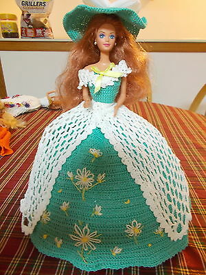 Crochet Fashion Doll Barbie Outfit-Lady Margaret-Doll Included