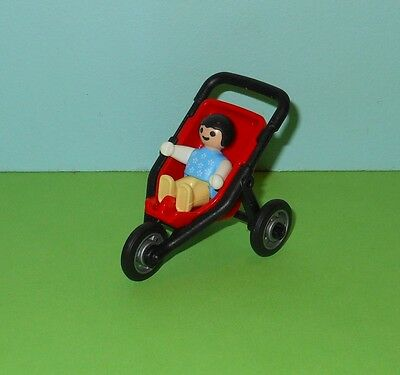 Playmobil City Life Baby in Stroller