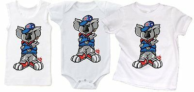 KOALA DUDE AUSTRALIA DAY PRINT - TEE or CUT SLEEVE TANK