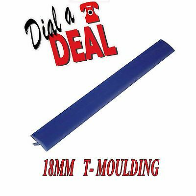 20FT ROLL NEW 18mm Blue  ARCADE T-moulding