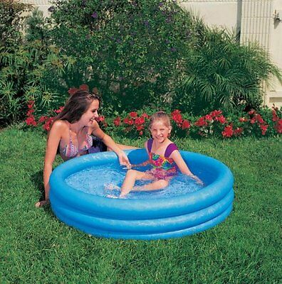 "Crystal 3 Ring Blue Pool, 3-Ring, 66"" X 16"" INX58446-CO INTEX"
