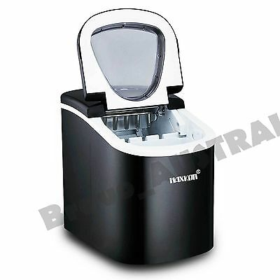 Blackl Portable Ice Cube Maker Machine Automatic Home Fast 13kg in 24hr