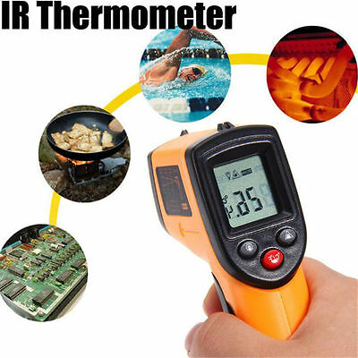 Digital GM320 Non-contact Infared Temperature Thermometer Pyrometer IR Laser Gun