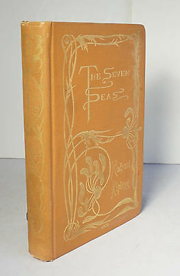 The Seven Seas 1896 Rudyard Kipling 1st/1st US Poetry The Lost Legion