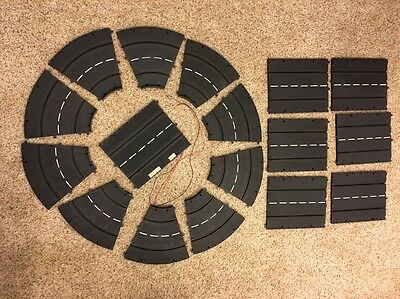 17 Pcs Lot Carrera Slot Car Track Curve 500 & Straight Germany Vintage 1990s