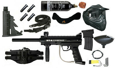 BT Combat Paintball Kit with mods FREE CO2 Tank