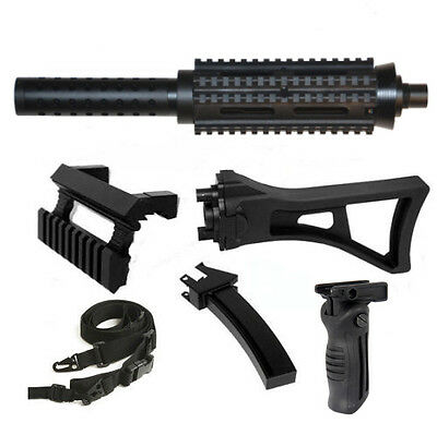 1913 Style Barrel+Mag+Stock+Sling+Grip Fits Tippmann A5 old model- Classic Model