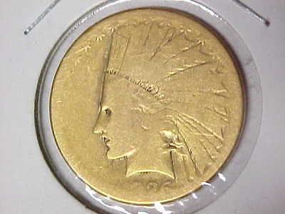 1926 Indian Gold Eagle $10 Coin Pre-1933 Gold - Lowball Coin