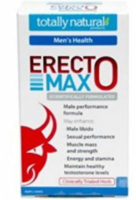 Carusos Natural Health Erecto Max 60 Tablets