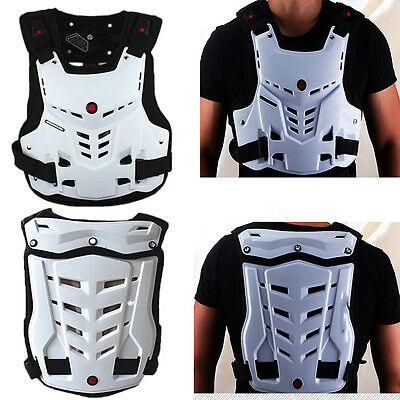 S-XL Enduro Motorcycle Deflector Dirt Bike Racing MX Chest Roost Guard Protector