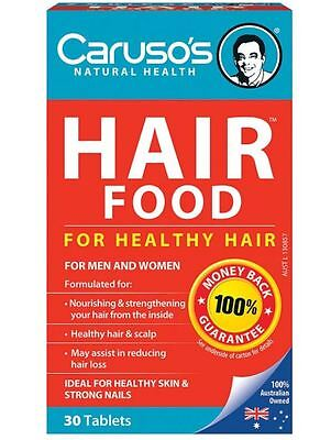 Carusos Natural Health Figaro Hair Food Plus 30 Tablets