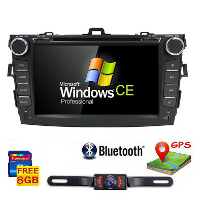 """8"""" Touch Screen Stereo Radio Car CD DVD Player GPS Navigation for Toyota Corolla"""