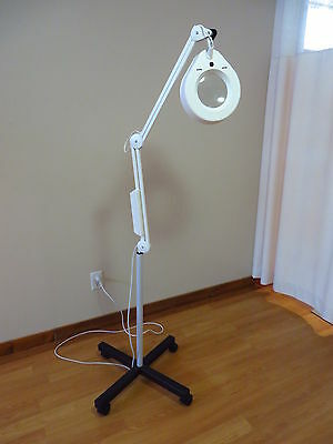 Luxo Magnifying Lamp with Stand