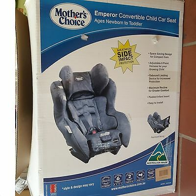 Mother's Choice Emperor Convertible Car Seat Newborn to approximately 4 years