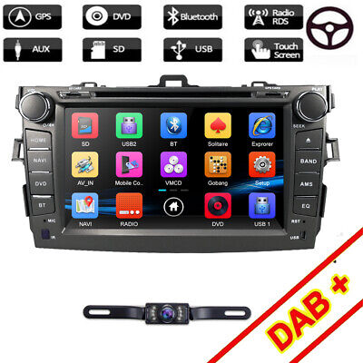 "Fit for Toyota COROLLA Car DVD GPS iPod 8""Touchscreen Radio Player BT SD Aux USB"