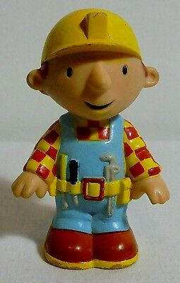 Bob The Builder 3'' Plastic Figure From Old Set - Rare