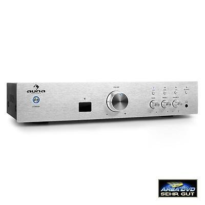 New Hi-Fi Home Stereo Amplifier System Bluetooth Mp3 Player 600W Receiver Amp