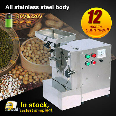 Commercial Almond Milling Machine Oily Feed Grinder for Walnuts/Peanuts/Sesame