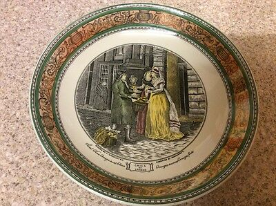 "Vintage Adams ""Cries of London"" Extra Large Cup and Saucer plus Honey Pot"
