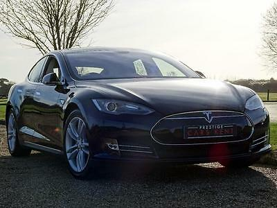 2014 Tesla Model S 85kWh 5dr [Nav] Electric blue Automatic