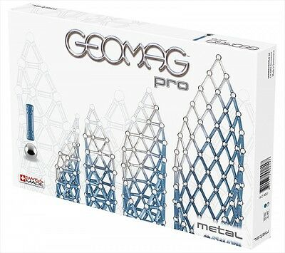 NEW Geomag World Japan Geomag Professional Metal Building KIT 100 Piece 214 Toys