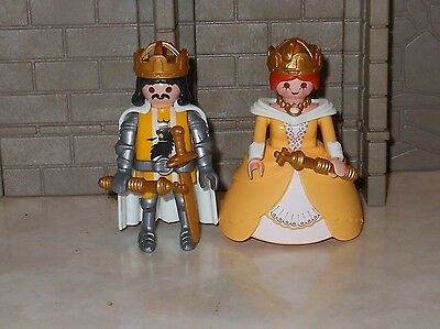 Playmobil knights/ King and Queen