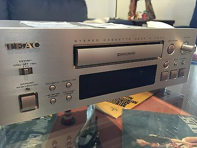Cassette player Teac R-H500, 2 head, autoreverse, 2  belts changed,fully revised