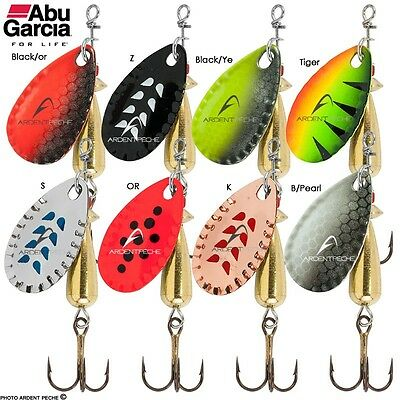 Abu Droppen Metal Spinner Lures 6g RRP - £3.00 - CLOSING DOWN - CLEARANCE