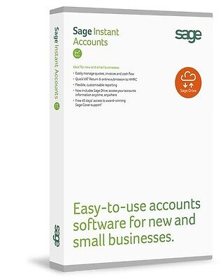 Sage 50 Accounts Essentials + Download RRP£165 *Sage Drive* Free next day P&P