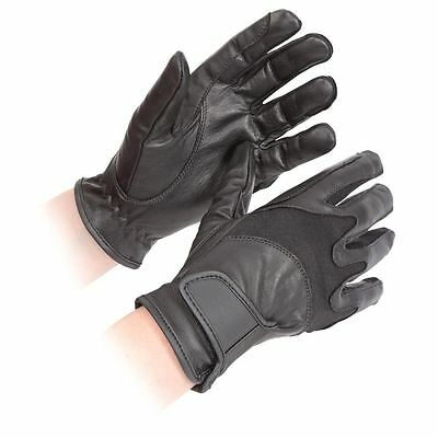 SHIRES PERFORMANCE ADULTS KINGHAM LEATHER HORSE RIDING GLOVES  ( 193 ) brand new