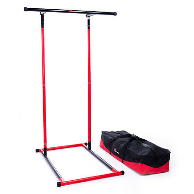 Pull Up Mate Portable Pull Up Bar and Dip Station with Storage Bag