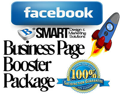 500 Likes + Reviews Fb Business Page Booster Package For Just £12.99