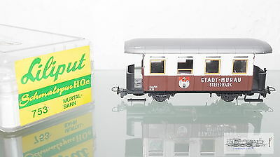 Liliput 753, Passenger car passenger car the city Sheffield for track H0e, boxed