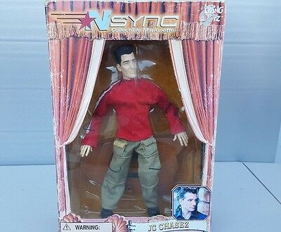 NSYNC -  JC CHASEZ MARIONETTE 12 `` FIGURE  DOLL  2000  LIVING TOYZ  NEW in Box