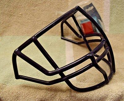 NEW Schutt football helmet facemask - NAVY - NOPO w/ clips & hardware