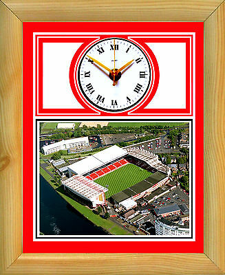 Football Clock Nottingham Forest City Ground Aerial