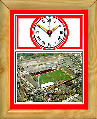 Football Clock Rotherham United The Millers Millmoor