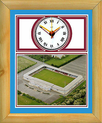 Football Clock Scunthorpe United Glanford Park The Iron
