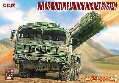 Preorder Modelcollect UA72110 1/72 PLA PHL03 Multiple Launch Rocket System