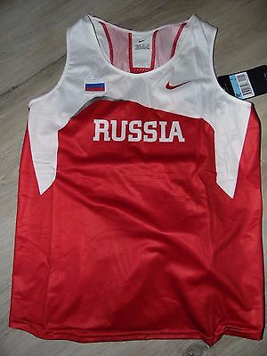 athletisme maillot russie  taille L olympic rio JO singlet team track women