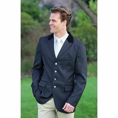 Shires Mens Black STANLEY Gents Competition Show Jacket Free Postage Brand New