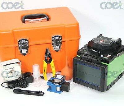 Free shipping Orientek T40 fiber optic fusion splicer equal to fiber splicer