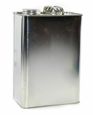 """1 Gallon F-Style Can with 1-3/4"""" Delta Opening with Cap"""