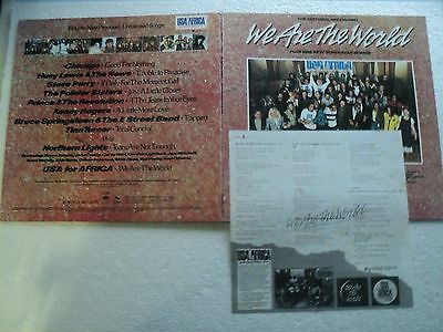 MICHAEL JACKSON We are the World/ USA for Africa -Unseen TAIWAN only Ltd edit LP