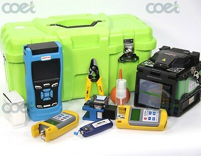 Orientek fusion machine T37 fusion splicer + T303 SM OTDR 1310/1550nm + test kit