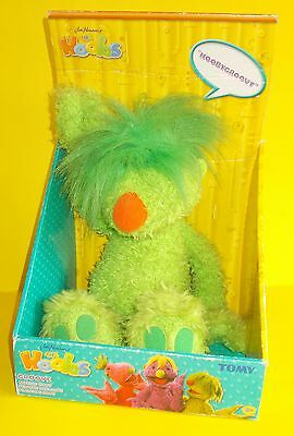 The Hoobs Tomy Talking Green Groove Soft Toys New In Box Bnib
