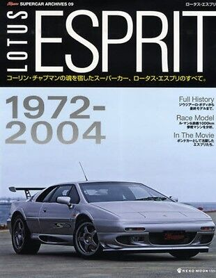 Lotus Esprit book S1 S3 4 HCI turbo V8 GT3 detail history