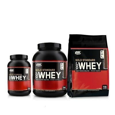 ON Gold Standard 100% Whey Protein Isolate 1lb / 2lb / 3.3lb / 5lb / 8lb