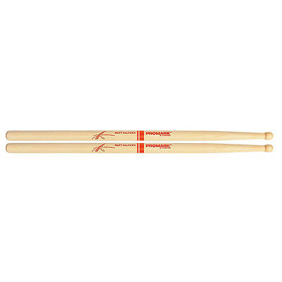 "Promark TXMHW Matt Halpern Signature Wood Drum Sticks 16"" Length Drumsticks"